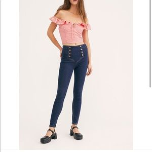 Free People On the Run Skinny Jeans
